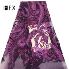 African Lace Fabric Latest sequin 2019 Fashion Tulle French High Quality Nigerian Fabrics F1582