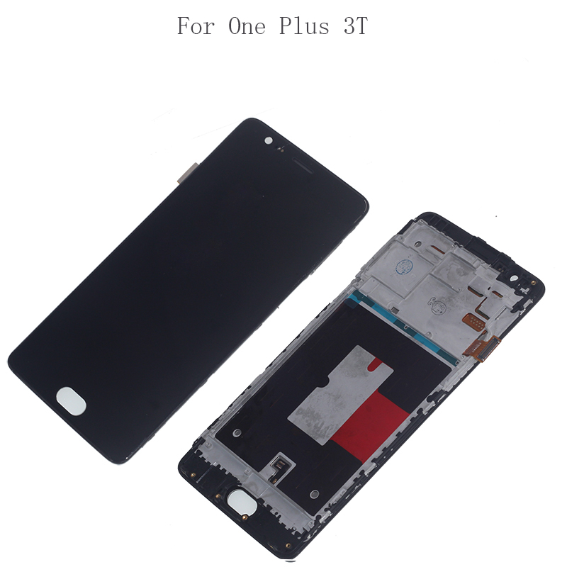 """Image 3 - 5.5"""" AMOLED For Oneplus 3 3T LCD display + Touch screen sensor assembly replacement A3010 A3000 A3003 mobile phone repair parts-in Mobile Phone LCD Screens from Cellphones & Telecommunications"""