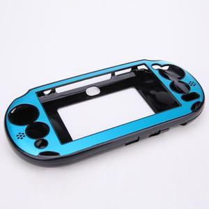 Image 5 - 소니 플레이 스테이션 PS Vita 2000 PSV PCH 20 dropshipping에 대 한 5 색 알루미늄 스킨 케이스 커버 셸