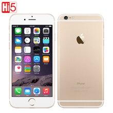 Оригинальный Apple iPhone 6 Plus 4.7 & 5.5 «сотовые телефоны Двухъядерный 64 ГБ/128 ГБ Rom IOS смартфон 8MP Камера 4 К видео LTE 1080 P