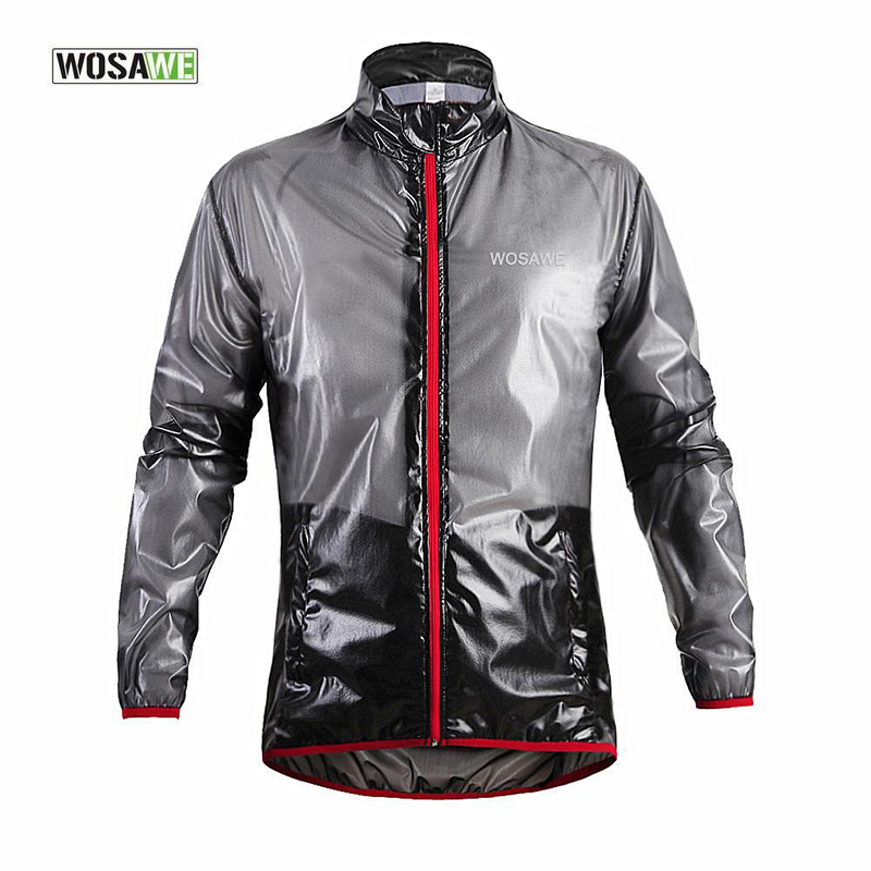 WOSAWE Outdoor Bicycle Running Jacket Sports Waterproof Windproof Rain Cycling Bike Coat Jersey Superlight cycling jersey 2017 new high grade cycling coat windproof bike bicycle clothing men