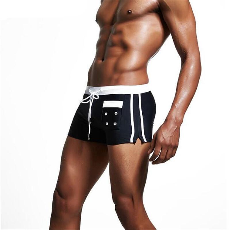 Topdudes.com - Men's Sexy Fashion Low Waist Beach Boxers Shorts