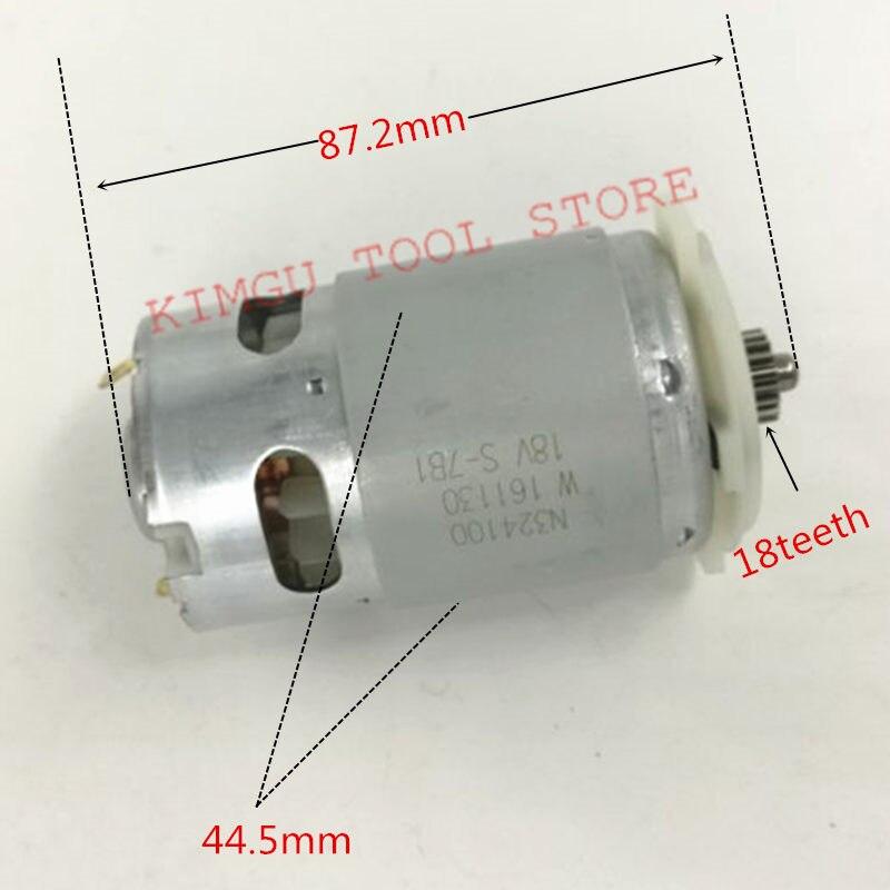 DC 18V Motor N376649 Replace For Dewalt DCD776