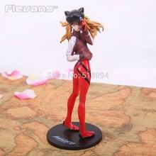 Anime EVA Neon Genesis Evangelion Soryu Asuka Langley PVC Action Figure Collection Model Toy 23.5CM EVFG023