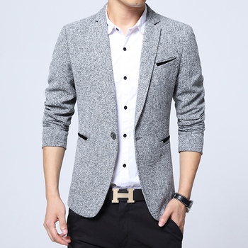 Cotton Slim England Suit Jacket Blazer