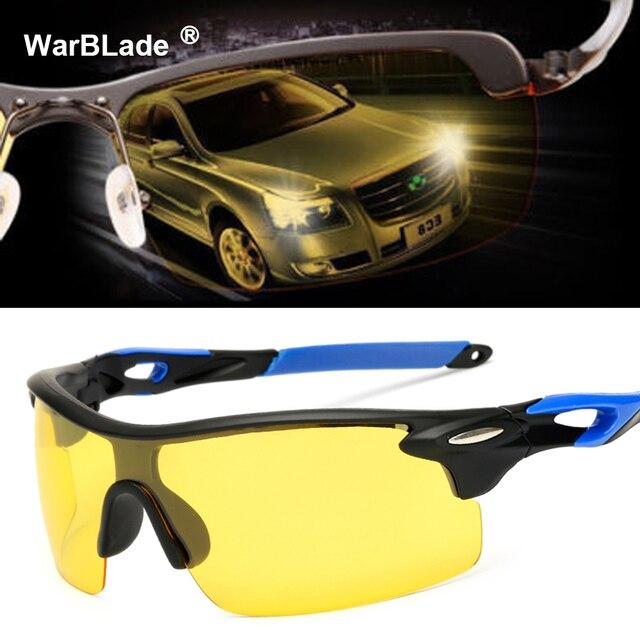 15a689dce1 Men s Driver Night Vision Goggles Sunglasses Driving Male Driving Sun  Glasses For Men Anti-glare UV400 Cloudy Fog Day