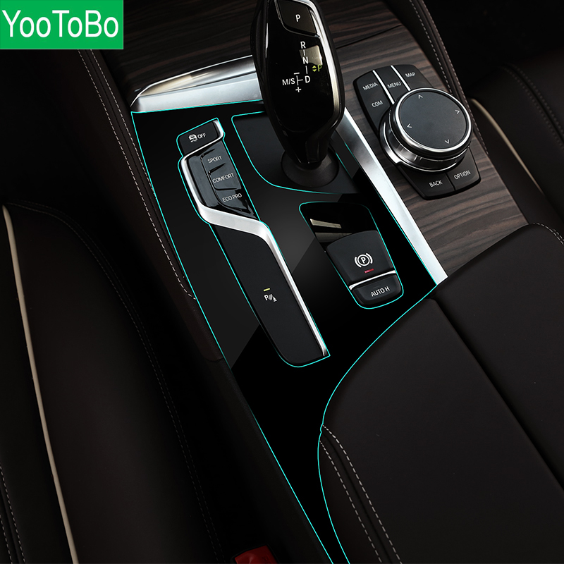 Us 22 39 20 Off Car Interior Trim Dashboard Cd Panel Clear Paint Protective Bra Film Stickers For Bmw 5 Series 525i 530i 540i G30 G31 2018 In Car