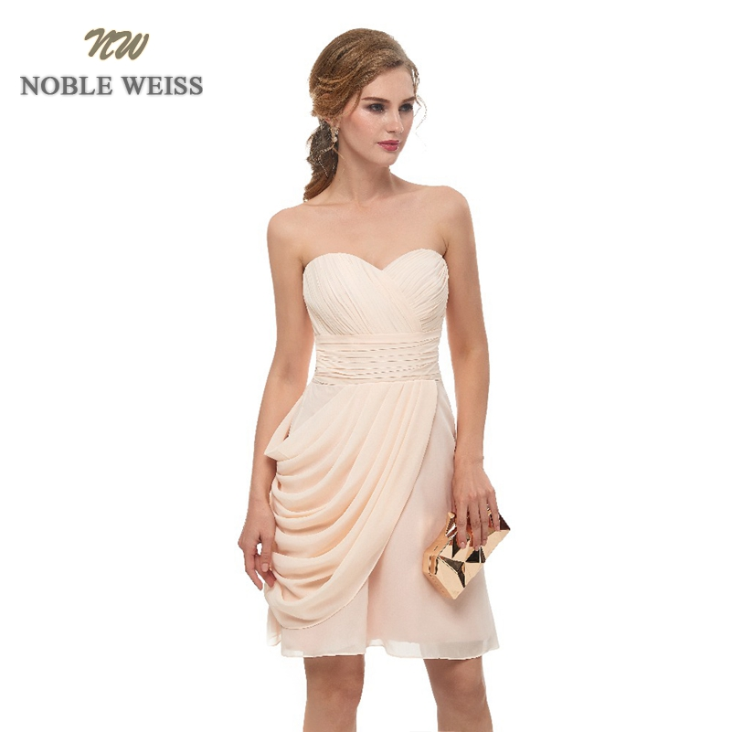 prom     dresses   2019 champagne chiffon short   prom     dress   vestido de formatura sweetheart pleat in stock women   prom     dress