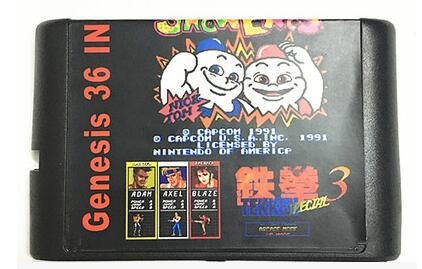 The latest 36 in 1 Game Cartridge 16 bit MD Game Card For Sega Mega Drive For Sega Genesis