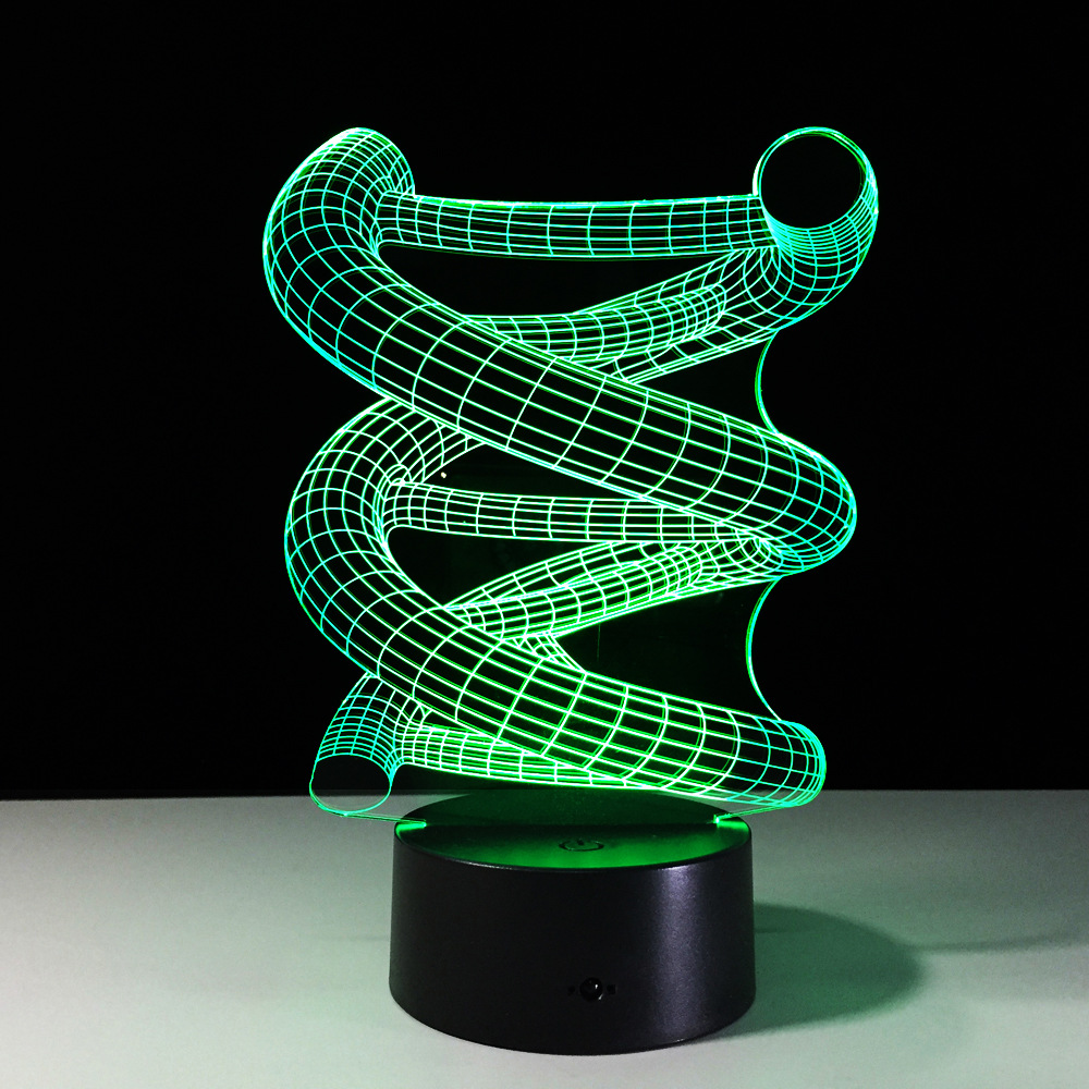Luzes da Noite dna led night lamp venda How to Conjunto The Color : Touch The Button on The Lamp Base