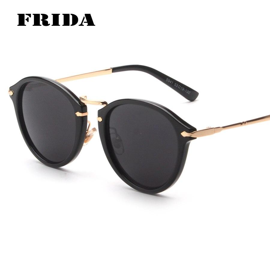 FRIDA Newest Fashion Sunglasses Women Brand Designer Vintage Retro Eyewear Men Classic Shades Glasses UV400 font
