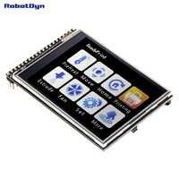 "TFT 2,8 ""LCD Touch Screen modul, 3,3 V, mit SD und MicroSD karte"