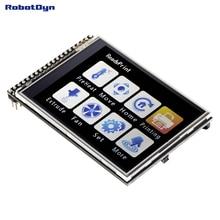 """Tft 2.8 """"lcd 터치 스크린 모듈, 3.3 v, sd 및 microsd 카드 포함"""