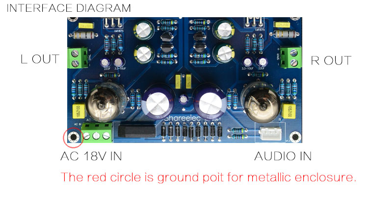 6J1+LM1875 amplifier