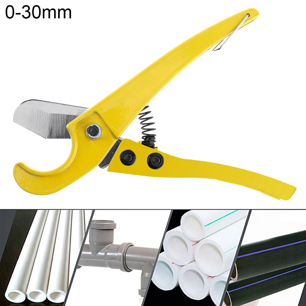 8 Inch Aluminum Alloy Scissors Tube Cutter Tool with Fixed Bracket and Surface Painting Process for Plastic PVC PPR Pipe Cutting free shipping bosi new 5 31mm bearing tubing pipe cutter for copper aluminum tube cutting