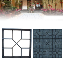 DIY Paving Mold Stepping Stone Pavement Driveway Patio Paver Path Maker Floor for Garden Yard Design 40*40*4cm
