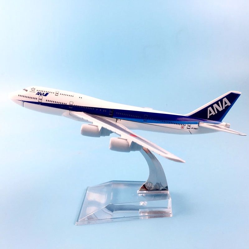 FREE SHIPPING 16CM ANA METAL ALLOY MODEL PLANE AIRCRAFT MODEL TOY AIRPLANE BIRTHDAY GIFT