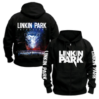 HOT NEW LINKIN PARK BAND Hoodie Mens ROCK MUSIC FREE SHIPPINGblack 100% cotton hoodie