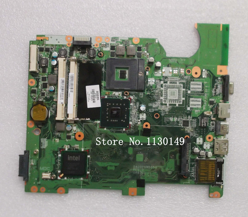 DA00P6MB6D0 laptop motherboard for HP G61 CQ61 578703-001 GL40 INTEGRATED GMA 4500MHD DDR2 With Good quality