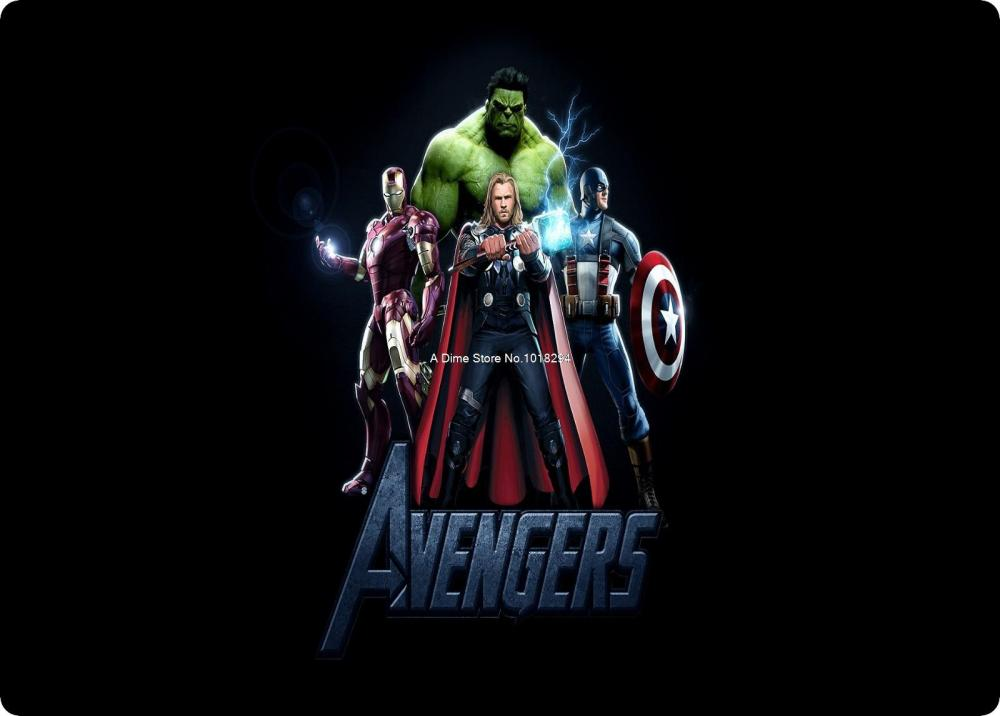 The Avengers mouse pad 2016 new mousepad laptop large mouse pad gear notbook computer gaming mouse pad gamer play mats