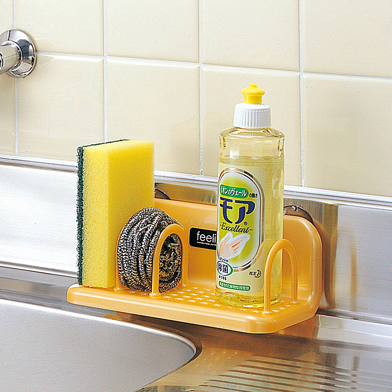 inomata Kitchen scouring pad Separate shelf Small objects storage rack/ Drain shelf, Sponge holder shelf