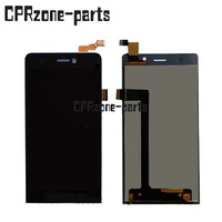 100 Warranty Black Full LCD Display Screen Digitizer Touch Glass Assembly For Highscreen Spider By Free