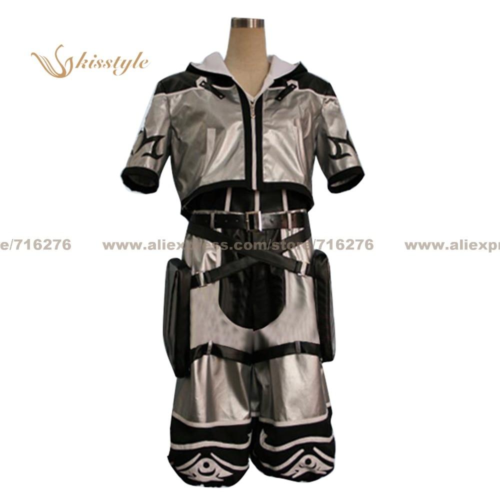 Kisstyle Fashion Kingdom Hearts Sora Серебристая форма COS одежда косплей костюм, возможно индивидуальное изготовление на заказ