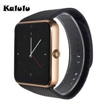 Gt08 notificador de smart watch sync soporte sim card tf mp3 conectividad bluetooth reloj teléfono android smartwatch