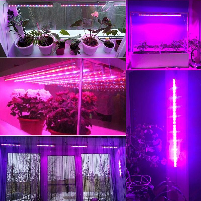 ReBlue Grow light Phyto Lamp 12W led bulbs seedling aquarium ...