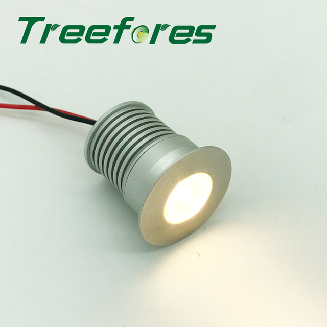 2700K Nice Warm 3W 280Lm CREE Led Lamp Downlight Light 80Ra 12V 24V Mini COB Party Lighting for Cabinet Dining Ceiling Spot Bulb