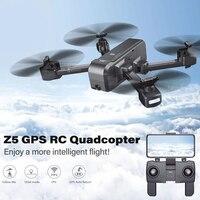 SJRC Z5 Квадрокоптер с HD 720 p/1080 p Камера Дрон с GPS 2,4g/5g Wi Fi Fpv удержания высоты режим следуй за мной Vs Visuo XS812