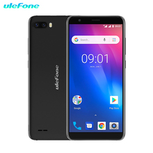 лучшая цена Ulefone S1Pro 5.5 inch Mobile Phone 18:9 MTK6580 Quad Core 1GB RAM 8GB ROM Android 8.1 3G Smartphone 8MP+5MP Rear Dual Cameras