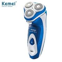 Kemei Washing Razor Shaver Wholesale Genuine Men Rechargeable Shaver KM 5880 Washable Razor Electric Shaver Rotary