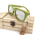 BOBO BIRD Womens Wood Sunglasses With Coating Mirrored Polarized Lenses Ladies Bamboo Sun Glasses in Wood Box