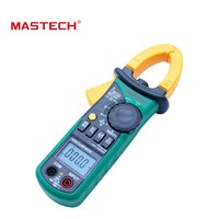 MASTECH MS2108A Auto range Digital Clamp Meter Multimeter DC AC Current Voltage Frequency Meter Tester with Backlight