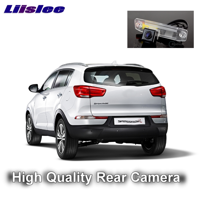 Car Camera For <font><b>KIA</b></font> Sportage R 2011~2015 Ultra LiisLee HD reversing camera automobile rearview image CCD + RCA