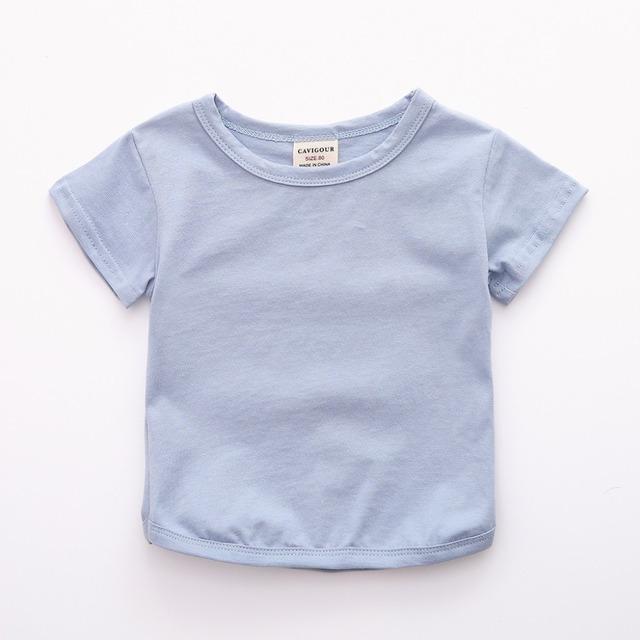 Newborn Top Short Sleeve O-neck