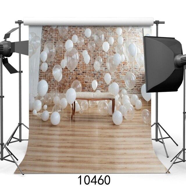 10x10ft SJOLOON Кирпичная стена воздушные шары Фон Фотографии Фонд студия фотография винил Фото фон фотографии фон
