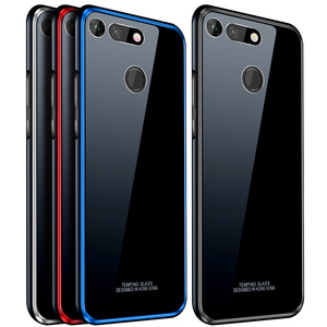 Image 5 - アルミニウム金属フレームケース Huawei 社の名誉 V20 ケース View20 強化ガラス裏表紙 Huawei 社の名誉 V20 金属バンパーケース