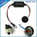 2X Canbus T10 W5W 1156 1157 BAY15D/P21/5W Widerstand LED Decoder Warnung Fehler Canceller für LED blinker Birne Fix Hyper Flash-