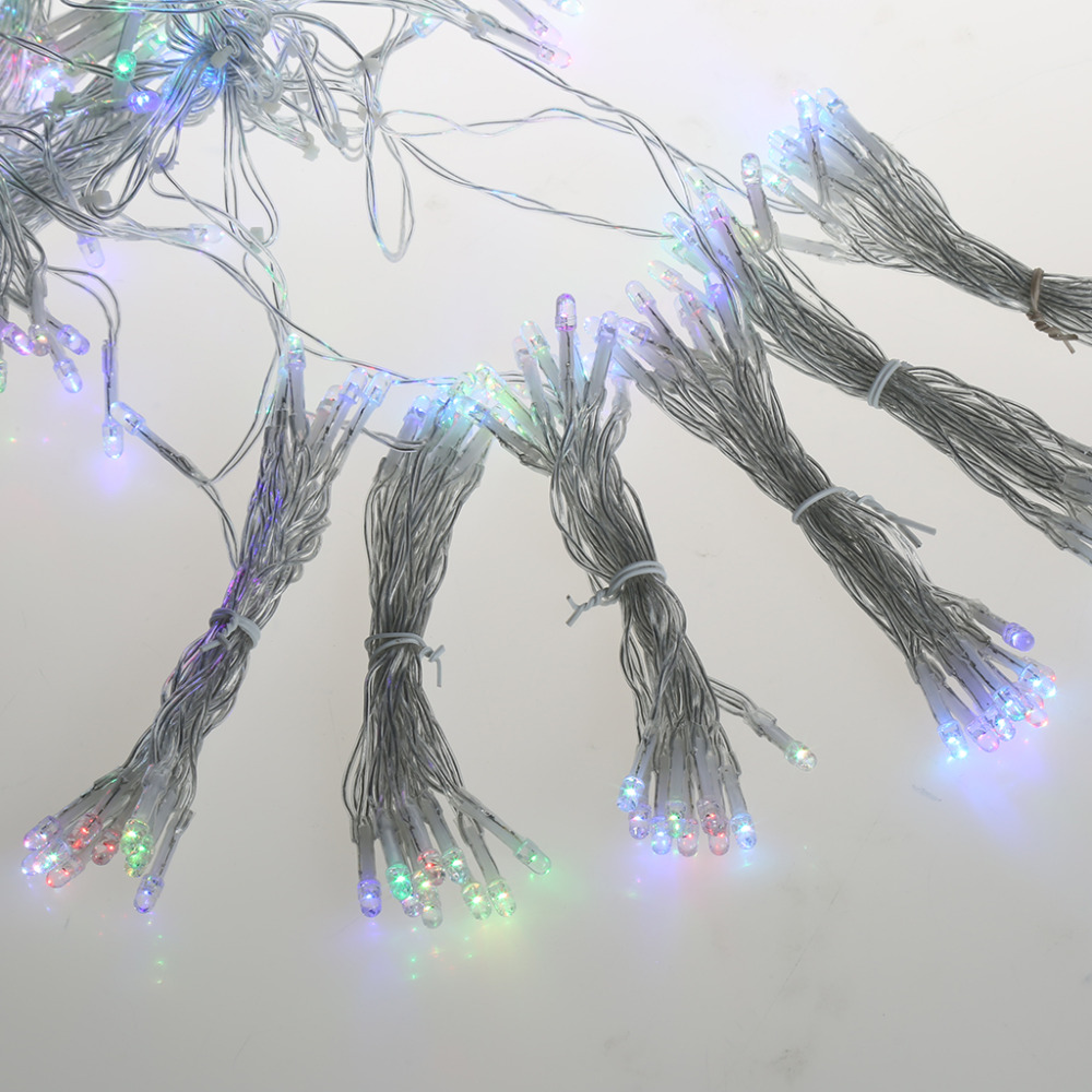 Excelvan 400LEDs String Lights Curtain Lights Window Icicle Fairy ...