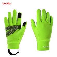 BOODUN 4-12 Years Kids Winter Cycling Gloves Full Finger Thermal Warm Windproof Outdoor Sports Ski Bike for Boys Girls