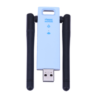 300Mbps Mini USB Port Wi Fi Signal Amplifier External Wireless Network Card WiFi Repeater With