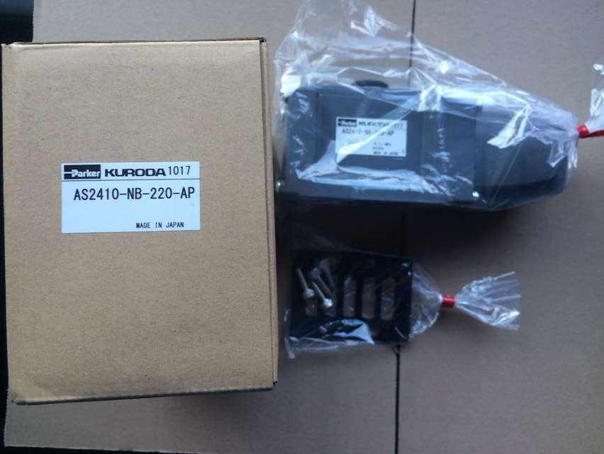 купить new genuine Japanese Kuroda solenoid valve AS2410-NB-220 по цене 14959.45 рублей