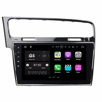 Android 7.1 Quad Core 10.1 Car Radio dvd GPS Multimedia Head Unit for VW Volkswagen Golf 7 2013 2014 2015 WIFI Mirror link