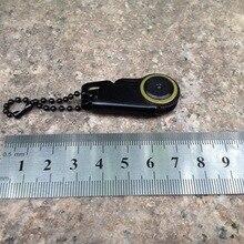 Dhl 200 шт практичный мини портативный складной металлический брелок для ключей Набор для кэмпинга портативный карманный инструмент
