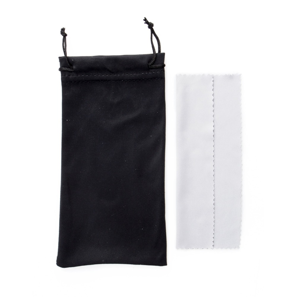 P+C Eyekepper Microfiber Soft Pouch And Cleaning Cloth For Reading Glasses