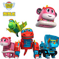 Min Gogo Dino ABS Deformation Car/Airplane Action Figures REX/PING/VIKI/TOMO Transformation Dinosaur toys for Kids Gift