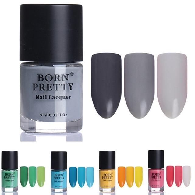 BORN PRETTY Mood Color Changing Nail Polish 9ml Thermal Nail Varnish ...