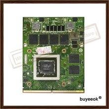 D'origine GTX 770 M GTX770M 3G N14E-GS-A1 Carte Graphique Pour DELL NVIDIA M15X M18X M6600 M17X Affichage Vidéo Carte GPU Remplacement
